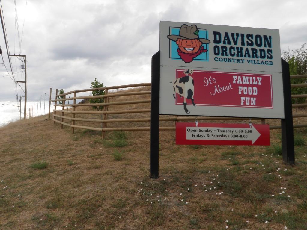 Davidson's Orchards Vernon