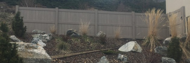 Residential Vinyl Privacy Fence