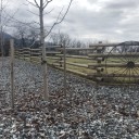 Custom Rail Fence