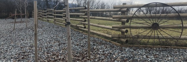 Custom Rail Fence
