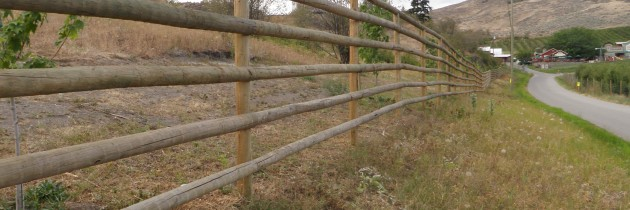Wood Rail Fencing